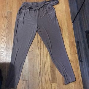 Fashionova belt pants